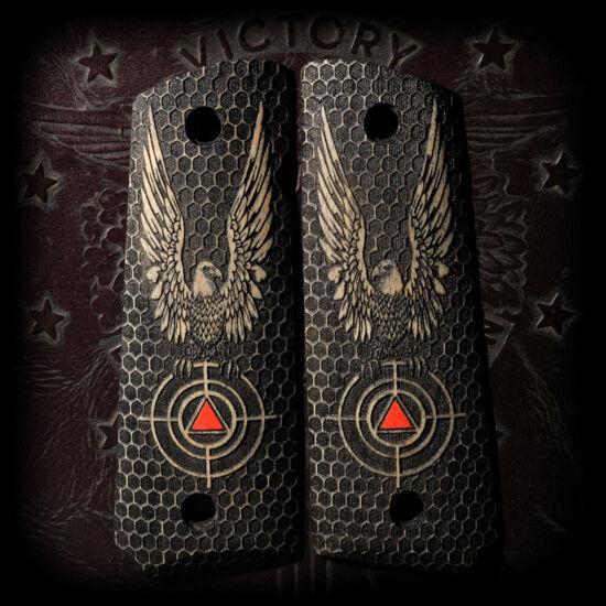 COLT DELTA ELITE 1911 Pistol Grips Full Size Hard Maple AMERICAN EAGLE