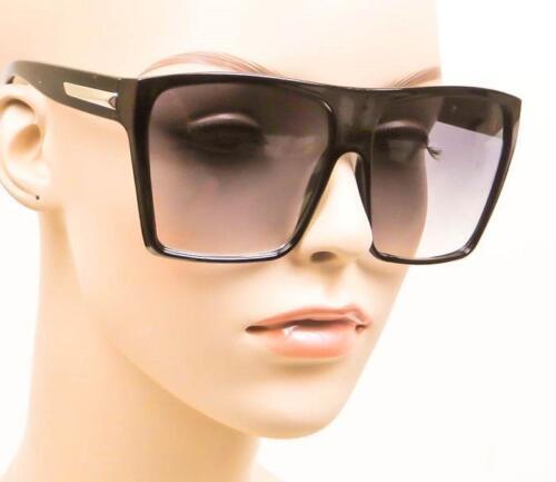 Vintage Look Oversized Square Rectangular Flat Top Aviator XL Sunglasses 8818 L
