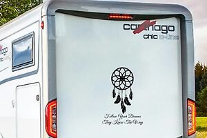 Dream Catcher Campers RV MOTORHOME CAMPER CARAVAN DREAM CATCHER VINYL GRAPHICS STICKERS 30