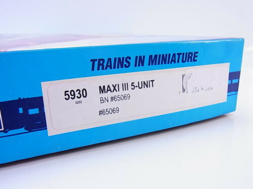 55113 bonita Athearn 5930 us-vagones set maxi III bn 65069 sin abrir en caja