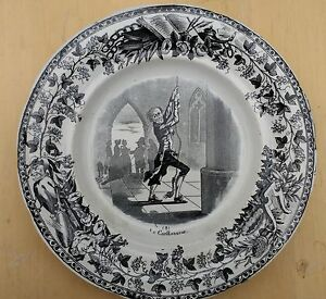1867 Paris Expo Francia: L.m & Cie: Creil et Montereau: la Campana Timbre: no 8