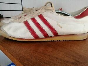 Details zu 70er Adidas Vienna Wien 70s Vintage 45 UK 11 Original Made Yugoslavia 60er 60s