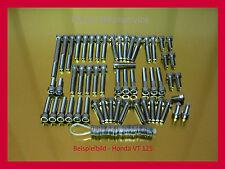 Honda shadow vt125 tornillos v2a acero inoxidable tornillos motor tornillos VT 125