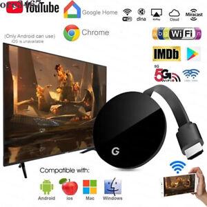 For Chromecast Chrome Wireless WiFi Receiver TV Stick Dongle Media Streamer HDMI
