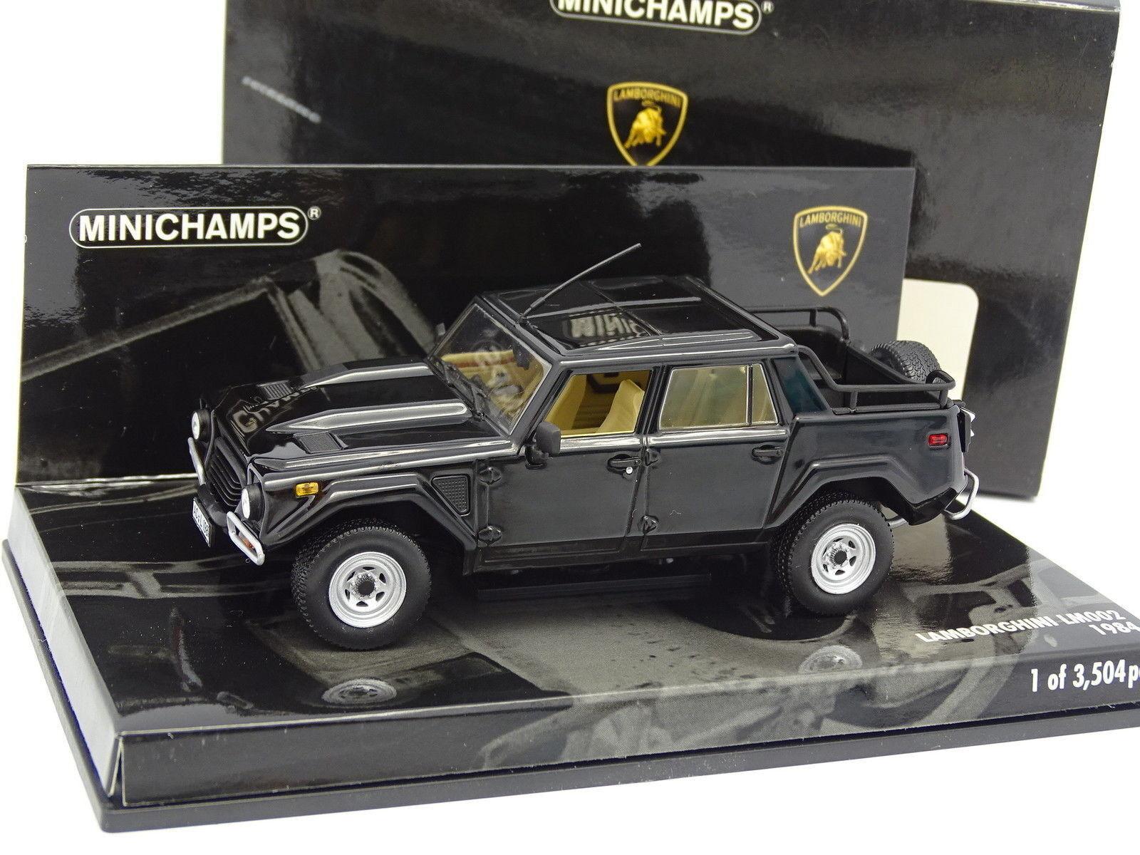 Minichamps 1 LM002 43 - Lamborghini LM002 1 1984 neroe ff3e86