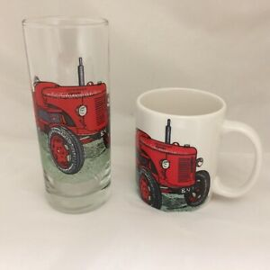 David Brown Cropmaster Mug And Matching Tall Highball Glass