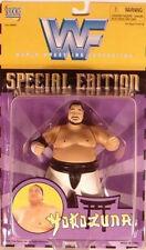 WWF WWE Classic Special Edition BC Superstars Yokozuna (Yellow Card) Jakks (MOC)