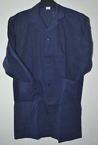 CAMICIA JEANS UOMO Taglia M maniche lunghe tela leggera 100/% cotone blu delavè