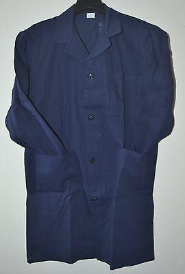 Men's Clothing Faithful Camice Uomo Lavoro Taglia 54 Cotone Sanforizzato K 21-22 Made In Italy Blu
