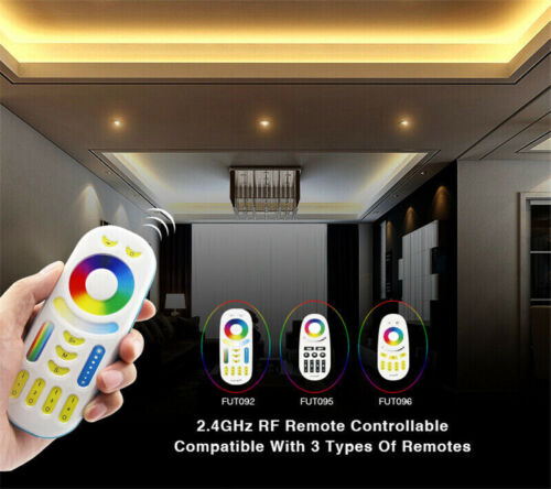 MiLight 2.4G Wireless Single Color Dimmer CCT RGB RGBW RGB+CCT LED Controller