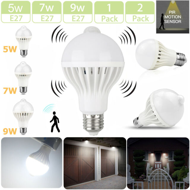 5W//7W//9W Energy Saving Light Bulb LED Screw E27 Outside Outdoor Wall Lantern