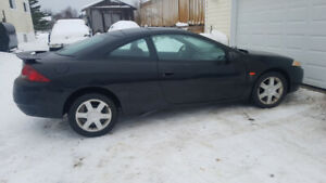 2002 Mercury Cougar v6 ,auto,inspected $1000 as is