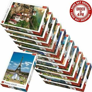 Trefl 2000 Pieces Jigsaw Puzzle Landscapes Cities