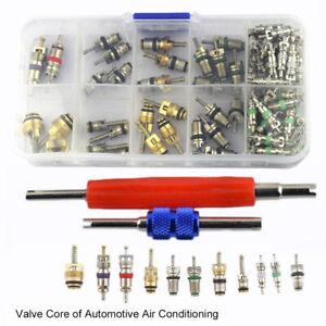 102pcs Car Air A/C Conditioning Valve Cores Remover Tool Assortment Set