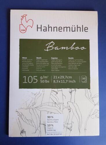 A4 Hahnemühle Bamboo Skizzenblock Skizzenpapier A5 A3 wählbar NEU!