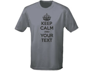 Keep-Calm-And-Your-Text-Funny-Mens-T-Shirt-12-Colours