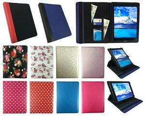 best loved 4d099 197f3 Details about Universal 360 Rotating Wallet Case Cover for Alcatel Pop 4 (  10 ) Tablet PC 10.1