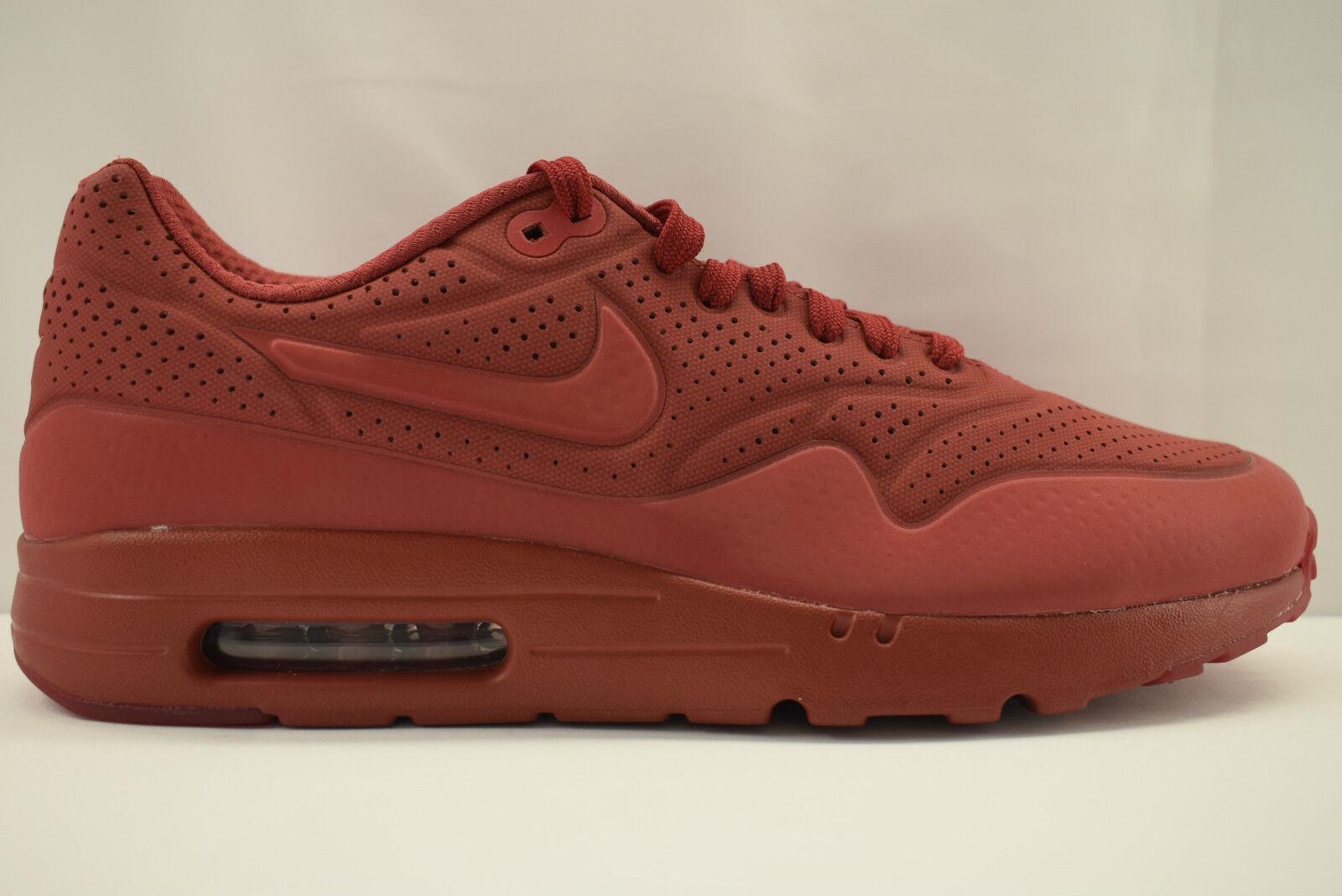 Nike Air Max 1  Ultra Moire 705297 606  1 Herrenschuhe Sneaker ROT a07ffd