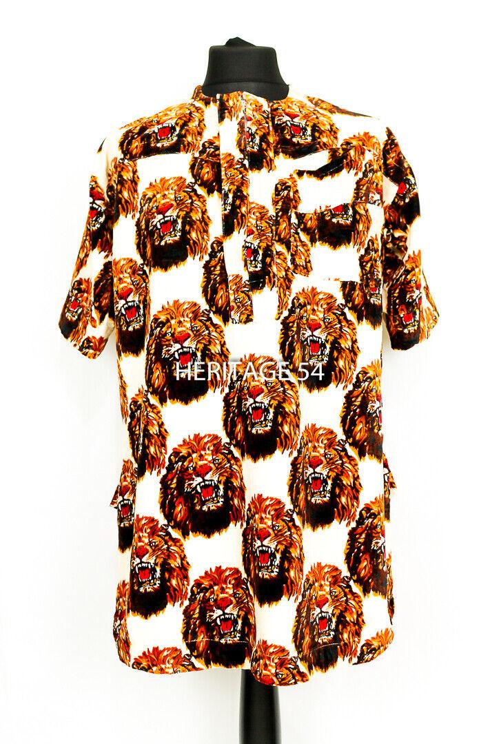 Ichie (Ivory) Isiagu Igbo Traditional Top Isi Agu Authentic Velvet African Men