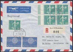 SWITZERLAND, 1961. Air Cover 383 (5), 401 (2), La Habra, CA