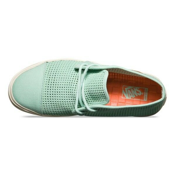Vans Sf Off The Wall Rhea Sf Quadrat Perforiert Sf Vans Gossamer Grün Damenstiefel 8.5 917965