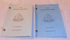 2 - VINTAGE 1966 1968 LAKE CHARLES LA. PETTICOAT POWER SQUADRON BOOKLET