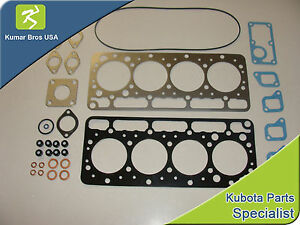 New Kubota V1100 Upper Gasket Kit