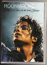 THE TRUE STORY OF MICHAEL JACKSON - MOONWALKING - NEW & SEALED R2 PAL DVD