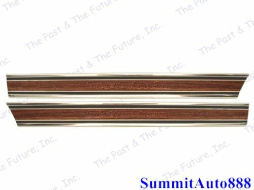 Chevy PU Pickup Truck Front Lower Bed Molding Long Wood Grain R/&L CPMG6972-3P