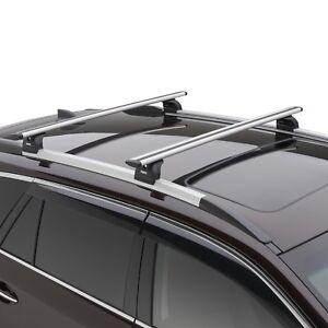 Oem 2017 2018 Subaru Outback Touring Thule Crossbar Roof Rack Kit New Soa567x020 Ebay