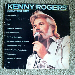 Kenny-Rogers-039-Greatest-Hits-1980-Liberty-Records-Lionel-Richie