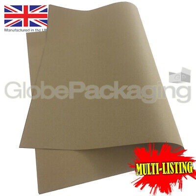 25 x QUALITY THICK BROWN KRAFT WRAPPING PAPER SHEETS 900x1150mm *100/% RECYCLABLE