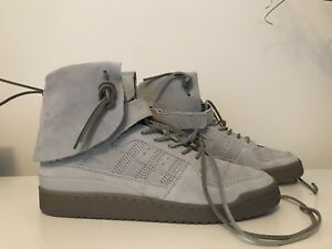 sports shoes 7a9bb 29e40 Image is loading Adidas-Forum-Hi-Mocassin-Stone-Stone-Clay-B27682-