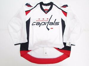 9a311b303 Image is loading WASHINGTON-CAPITALS-AUTHENTIC-AWAY-TEAM-ISSUED-REEBOK-EDGE-