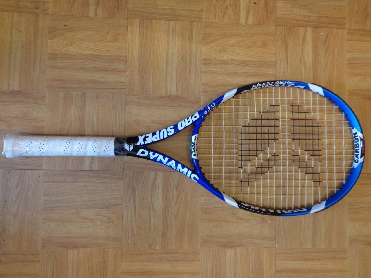 NEW RARE Pro Supex Dynamic Energy 100 head 4 1 2 grip Aero DRIVE Tennis Racquet
