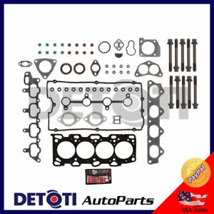 Details about Head Gasket Set Bolts Fix Kit For 99-06 Kia Hyundai 2 4L I4  Engine Code G4JS MLS