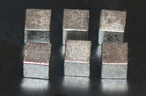 Tungsten Cubes for Pinewood Derby Car Weight 2oz = 12 pcs low price+ship-TxW