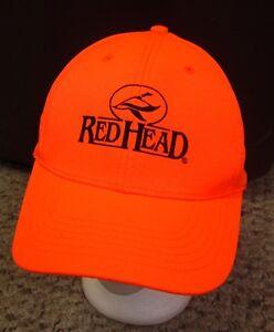 hat redhead Blaze orange