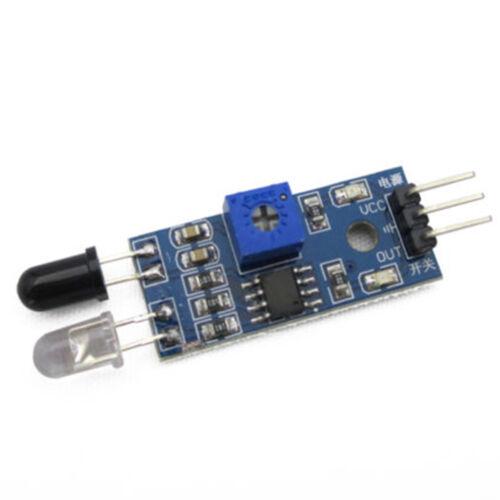 1//5//10PCS IR Infrarot Hindernisvermeidung Sensor Modul Smart Auto für Arduino HQ