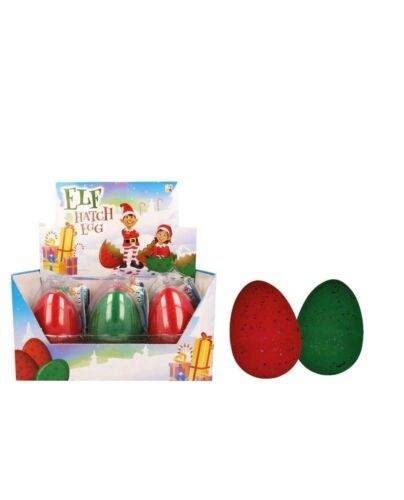 Hatching ELF Egg Hatch your very own Elf Green Red Christmas Fun for Kids Adults