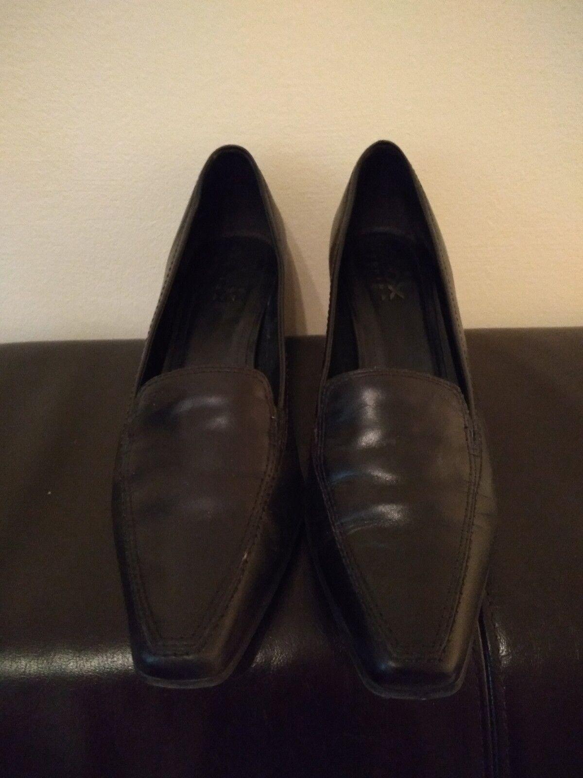 GEOX Leder Schuhe Pumps Gr. Gr. Gr. 41 Damen Leder schwarz kaum getragen d02a3c