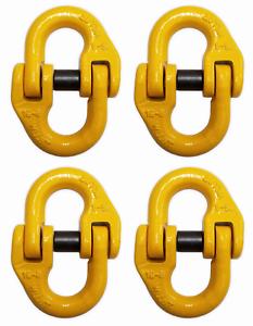 4-pack-5-8-034-Mechanical-Coupling-Link-Hammerlock-8-Ton-16000-lbs-WLL