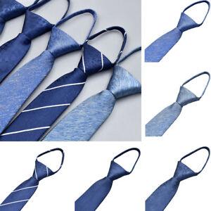 Men-s-Zipper-Neckties-High-Grade-Neck-Tie-Wedding-Party-Business-6CM-Tie