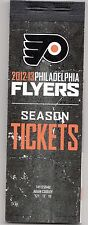 2012-13 PHILADELPHIA FLYERS SEASON TICKET BOOK FULL SET TICKETS GIROUX VORACEK