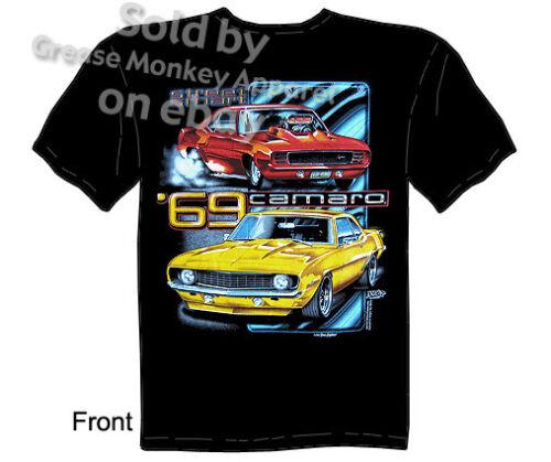 1969 Camaro Shirt 69 Chevrolet Clothing SS Chevy T Shirt Muscle Car Tee