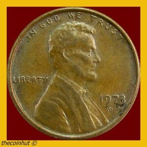 1973-D-Lincoln-Memorial-Penny-Cent-US-Coins-Coinhut2978