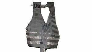 NEW-US-ARMY-MilitarySurplus-Molle-II-ACU-Tactical-Fighting-Load-Carrier-FLC-Vest