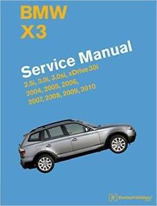 bmw x3 e83 2 5i 3 0i 3 0si 3 0 xdrive owners service repair manual rh ebay co uk