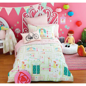 Hiccups-Lil-Mary-Pink-Double-Quilt-Cover-Bed-Bedding-Collection