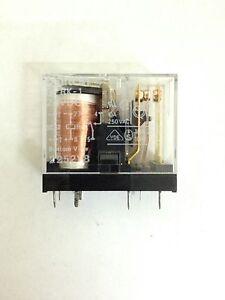 LOT OF 2pcs NEW OMRON G2RK-1DC24  GENERAL PURPOSE RELAY G2RK-1 24VDC